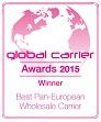 Afiche Global Carrier Awards 2015